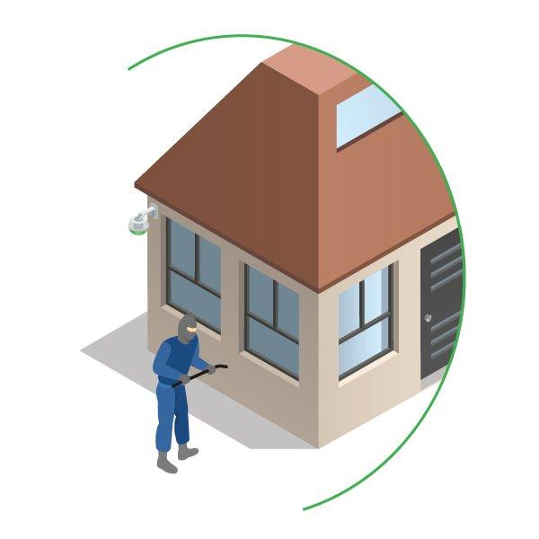 cctv remote monitoring intruder detection