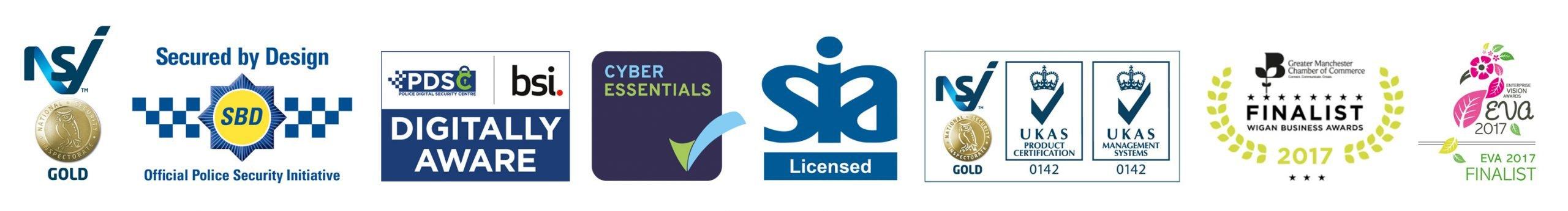 PSM Accreditation Award Logos